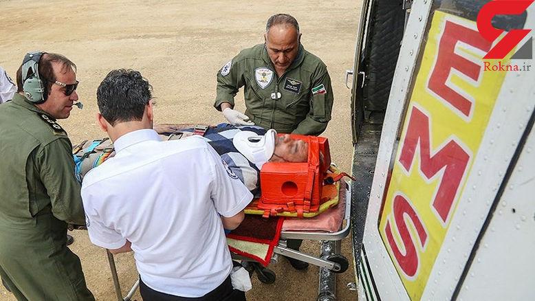 سیل درمانگاه بلوران کوهدشت را تخریب کرد