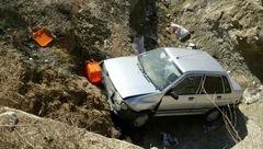 سقوط پراید از پل یک کشته و 3 مجروح برجای گذاشت