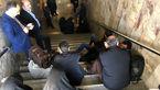حبس شدن غرفه داران نمایشگاه مطبوعات در متروی مصلی+عکس
