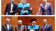 عنوان پروفسور افتخاری به ظریف اعطا شد