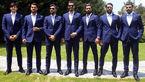 فوتبالیست های ایرانی در روسیه مدلینگ هستند+عکس