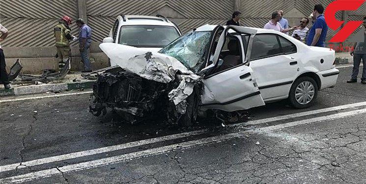 جسد مرد ناشناس در کرمانشاه  در صحنه یک سانحه پیدا شد!+ عکس