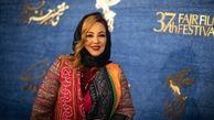 بهنوش بختیاری، ساره بیات و هدی زینالعابدین روی فرش قرمز جشنواره فجر+عکس