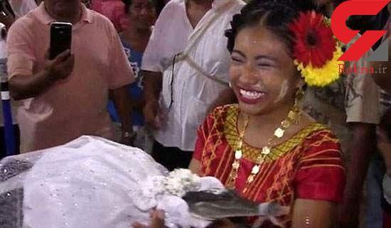 عروسی مجلل یک شهردار با کروکودیل+تصاویر