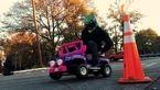 این ماشین اسباب بازی پر سرعت اختراع یک پدر برای کودکش است