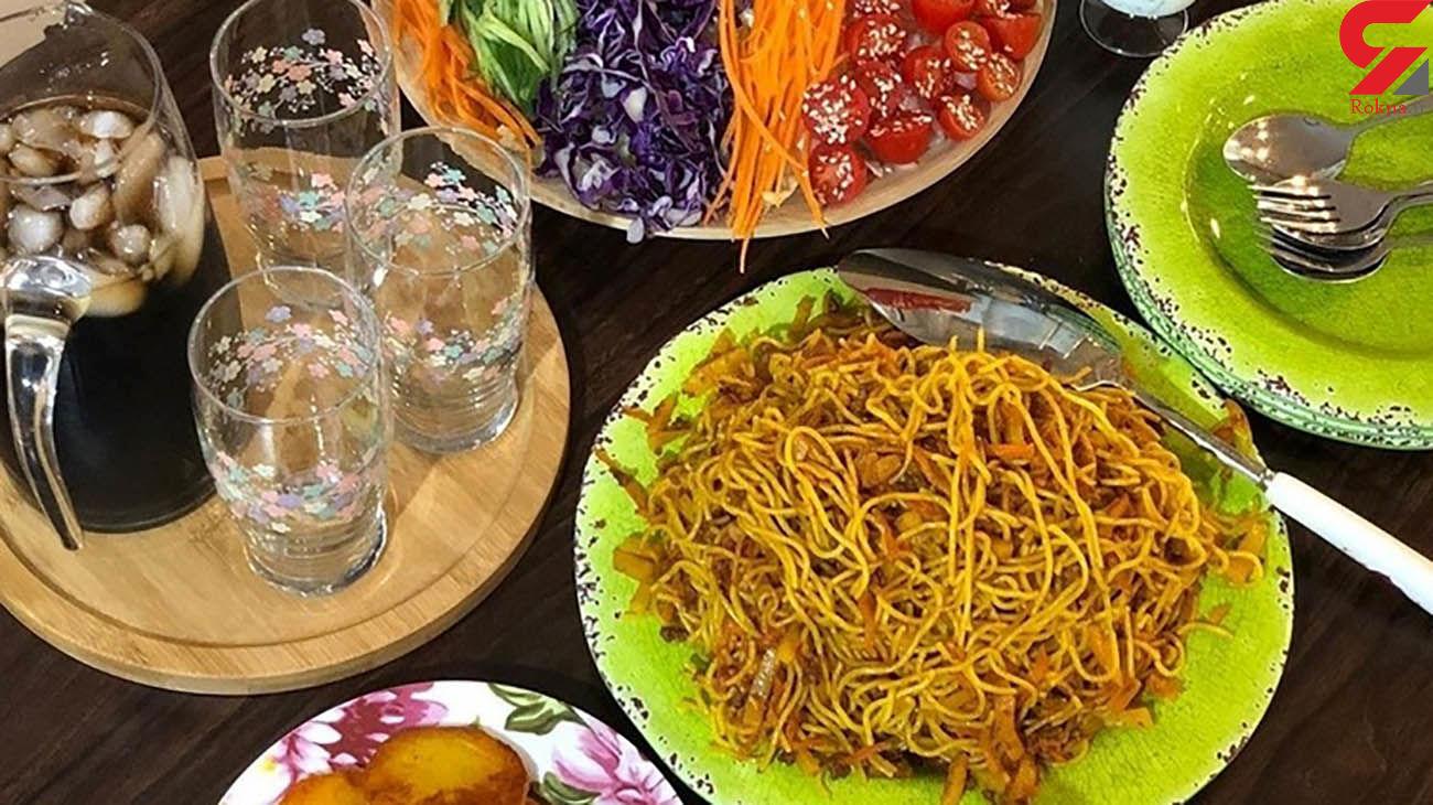 ماکارونی ایرانی + طرز تهیه