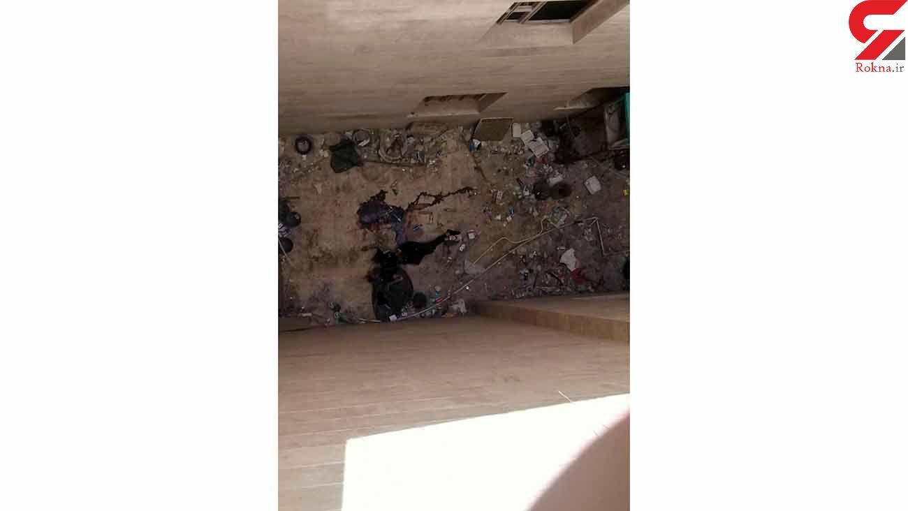 خودکشی معمایی یک جوان در قم + عکس جنازه