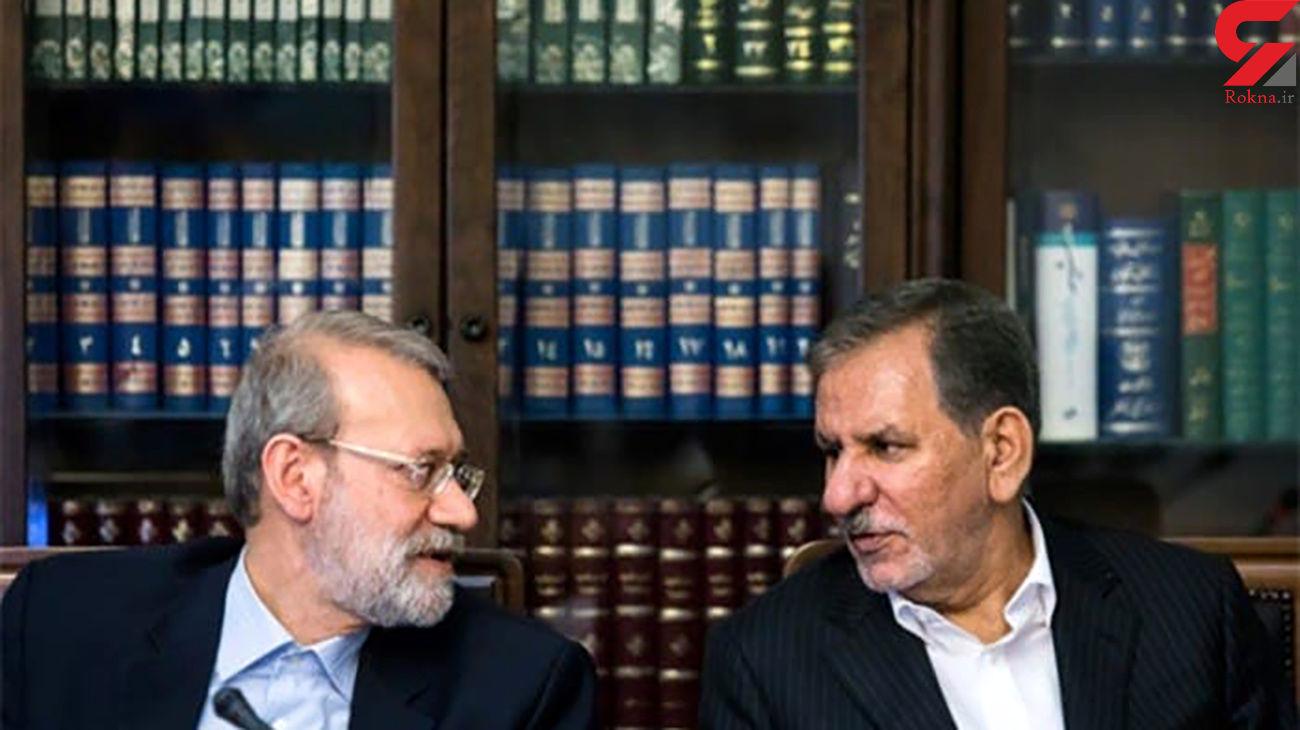 روحانی موضعی درباره لاریجانی و جهانگیری در انتخابات 1400 ندارد!