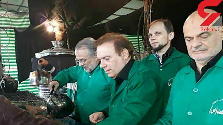 پذیرایی ۴ دانشمند خارجی شیعه شده از عزاداران حسینی + عکس