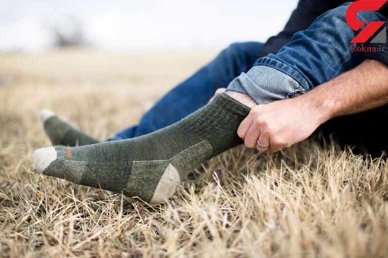 درمان بیماری های هولناک با پوشیدن جوراب!