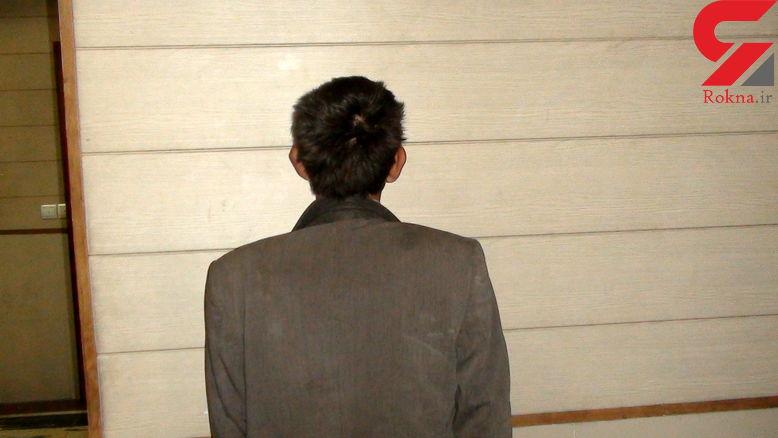 دستگیری سارق در سروستان