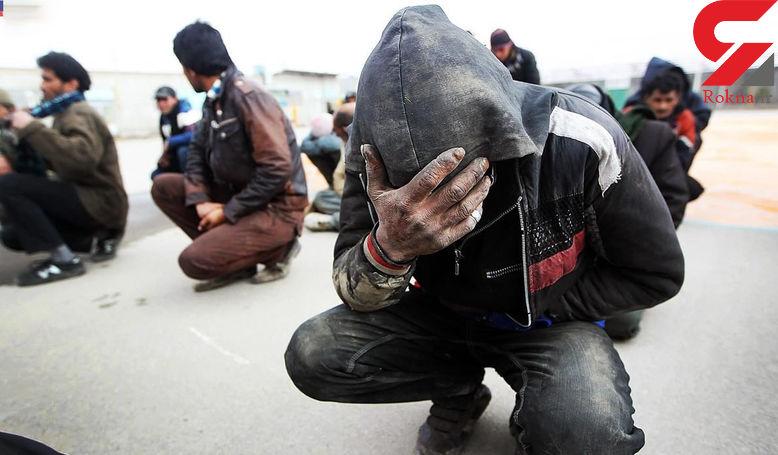 دستگیری 10 معتاد در بوکان