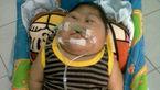 جدال با مرگ کودک 20 ماهه تایلندی+ عکس