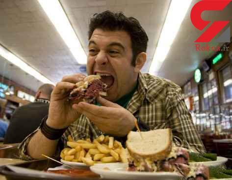 به این دلایل مردان تندتر از زنان غذا می خورند