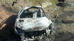 جوان 20 ساله  زنده زنده در ماشین سوخت + عکس