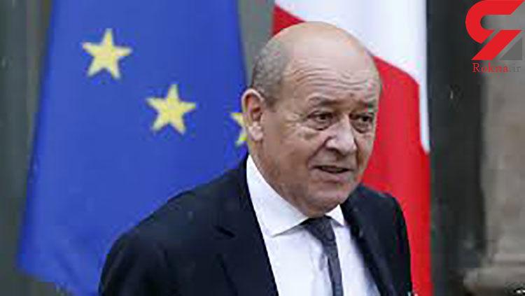 اتهامزنی وزیر خارجه فرانسه به برنامه هستهای ایران