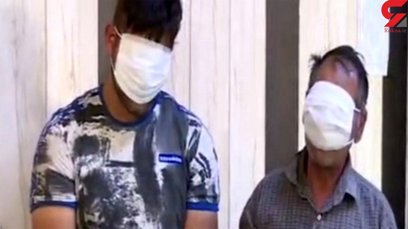 فیلم لحظه دستگیری اوباش اسلامشهر / 2 برادر شب قدر اسلحه کشیدند
