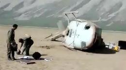 اولین فیلم از محل سقوط هلی کوپتر حامل صندوق رای + عکس شهید
