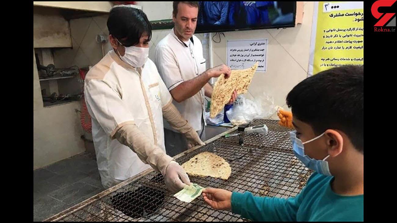 افزایش قیمت نان در تهران تا مرز ۵۰ درصد