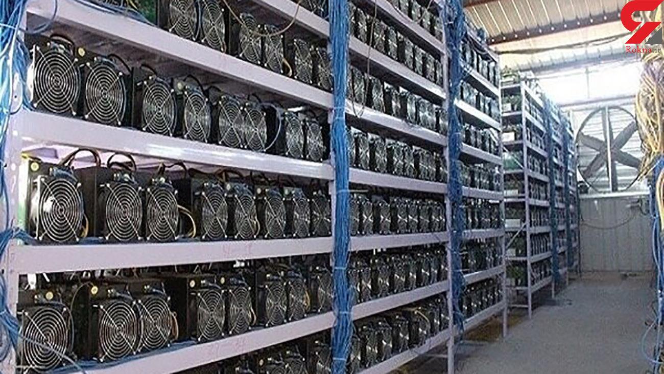 کشف 21 دستگاه ماینر قاچاق در مراغه