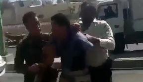 پشت پرده انتشار فیلم رفتار غیرمتعارف پلیس ایران با یک مرد وسط خیابان /  +فیلم و جزییات