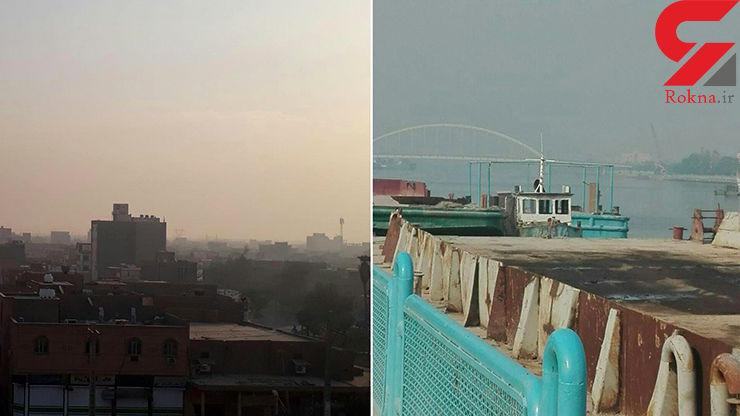 دود هورالعظیم ریههای مردم خوزستان را از کار انداخته است