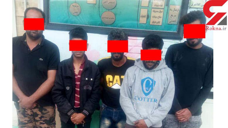 این 5 نفر در آبادان همه چیز می دزدیدند +عکس