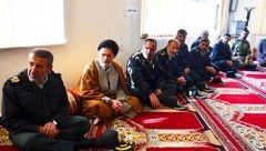 عیادت از جانباز حادثه تروریستی چابهار+عکس