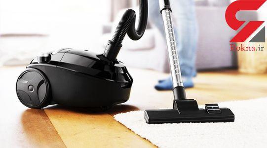 کاربردهای جادویی جاروبرقی در نظافت لوازم خانه