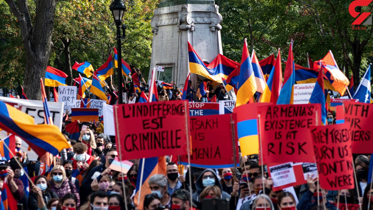 Eight People Detained during Anti-Government Protest in Armenia