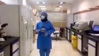 آرزوی شیرین پرستار باردار هنگام گرفتن آزمایش از 20 کرونایی در تهران + فیلم و عکس