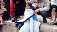 نجات کودک اصفهانی از غرق شدن در زاینده رود + عکس