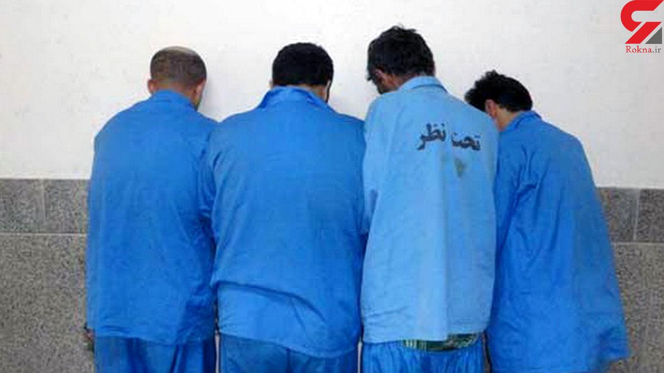 حمله به مخفیگاه قاچاقچیان انسان در تهران / 6 مرد گروگان بودند! + عکس