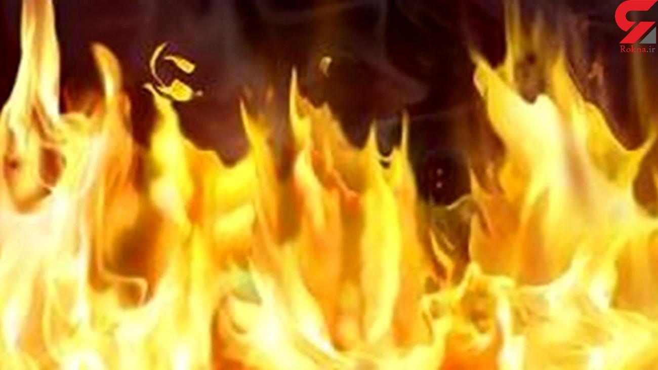 فوری / آتشسوزی ایستگاه برق در شهر امیدیه خوزستان + فیلم