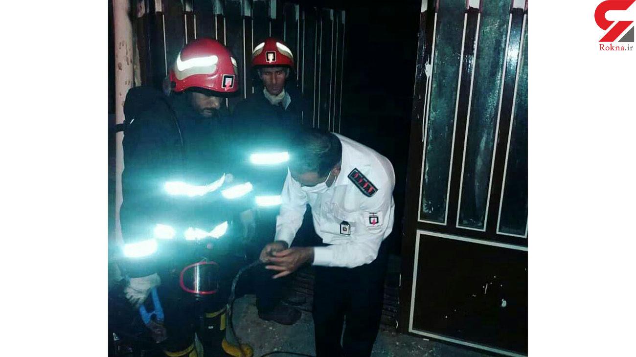 آتش سوزی هولناک در باشگاه پرورش اندام / در خرم آباد رخ داد + عکس