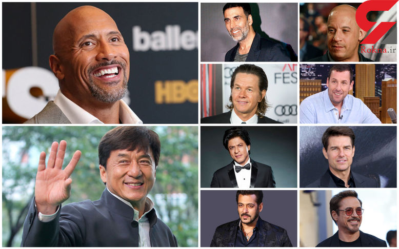 10 بازیگر مرد پولدار در دنیا چه کسانی هستند؟ +تصاویر