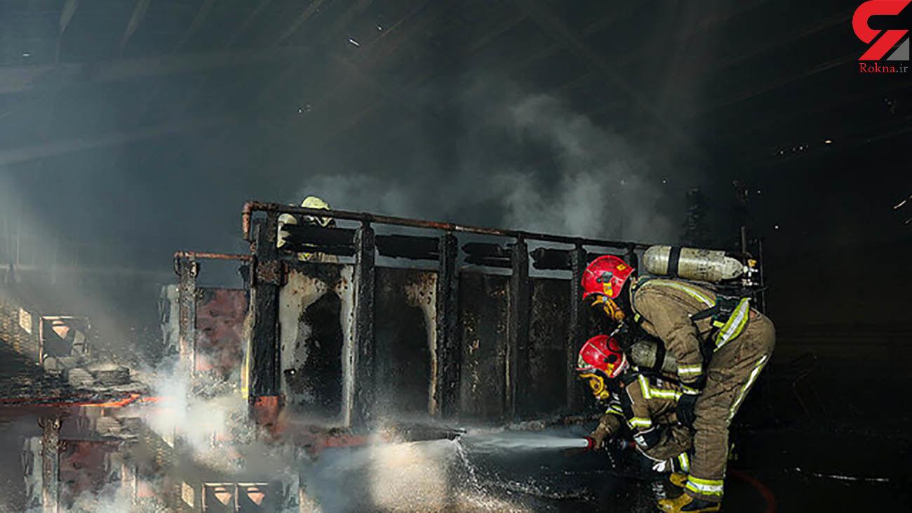 زنده زنده سوختن راننده کامیون حامل سوخت در بندرعباس