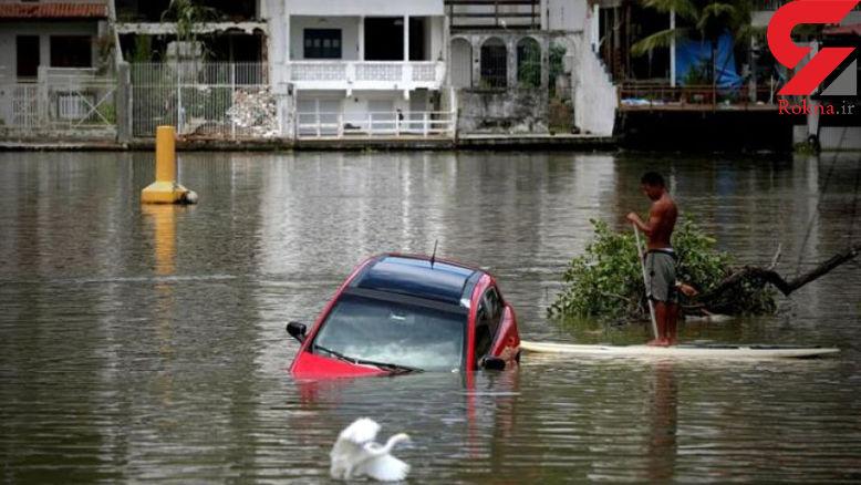 بارش باران باعث مرگ 5 نفر شد + عکس