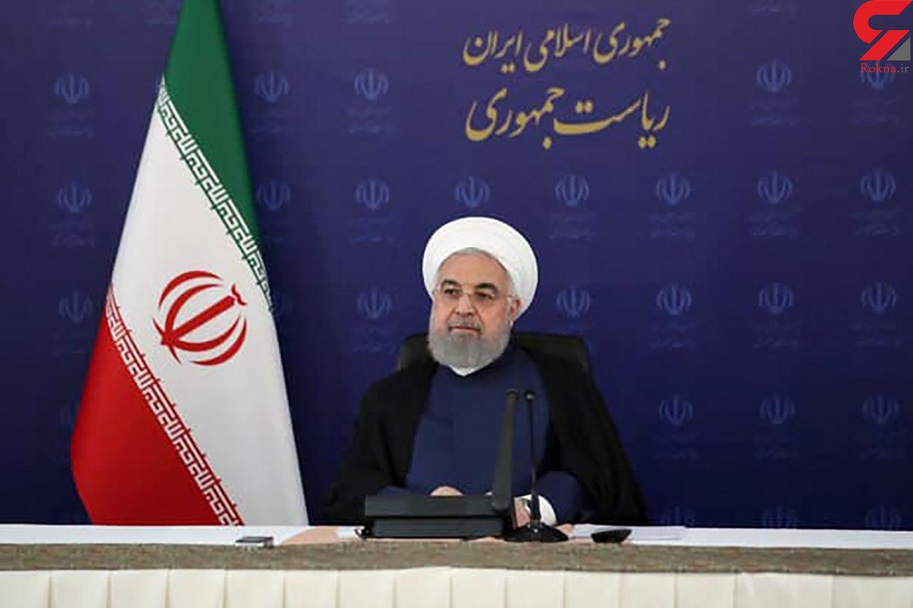 روحانی: کرونا را دستمایه مسائل سیاسی و انتخاباتی قرار ندهیم/ پیک چهارم نزولی شد