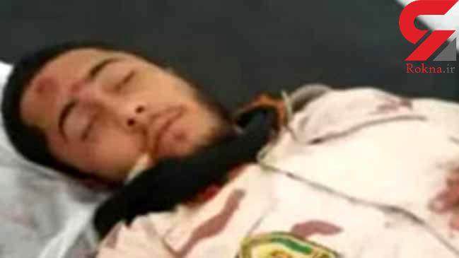 انتشار عکس جنازه سرباز شهید در چابهار