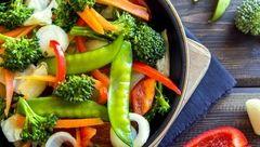 لاغری فوری با خوردن یک پیاله سبزیجات کم کالری