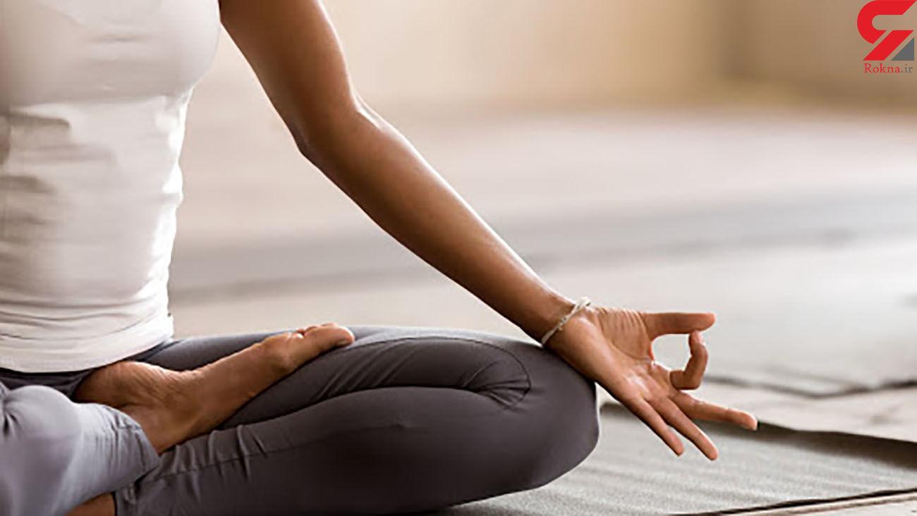 کاهش وزن و لاغری با این تمرینات ساده یوگا