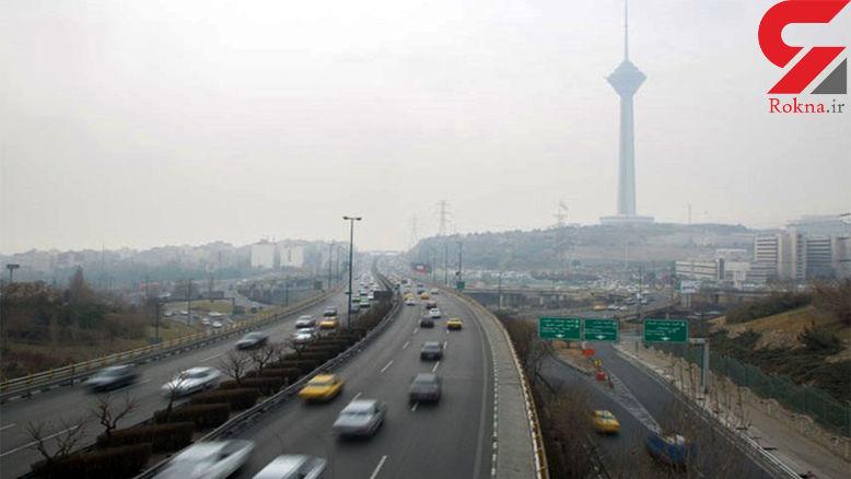 کیفیت هوای تهران با شاخص ۵۵ سالم است
