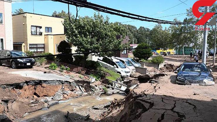 افزایش تلفات زلزله ژاپن