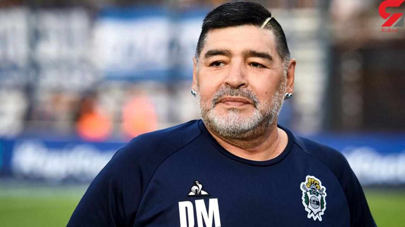 مارادونا وقتی مُرد با حقوق ناچیز زندگی می کرد