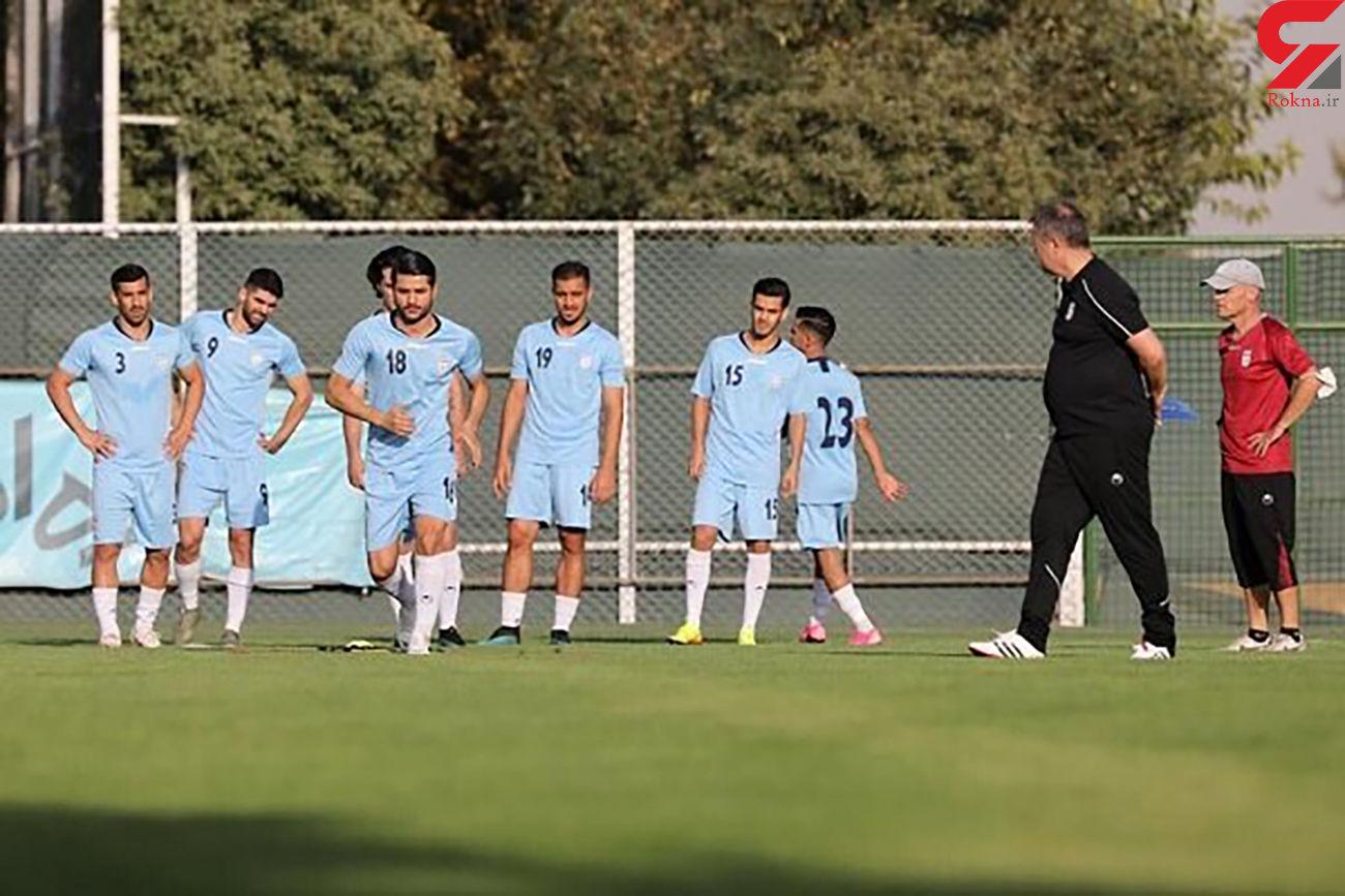 تست کرونای بازیکنان تیم ملی فوتبال مشخص شد