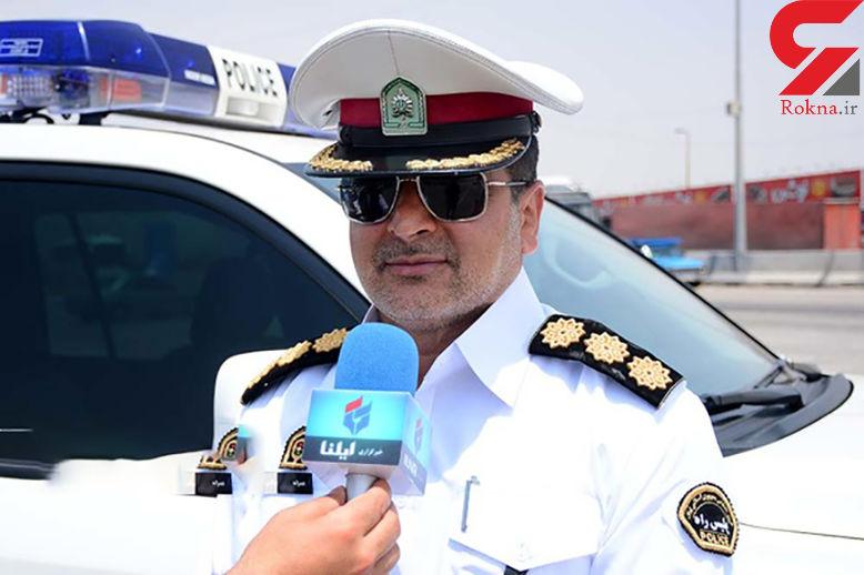 یک کشته حاصل تصادف خودروهای سنگین در جاده  قزوین-رشت