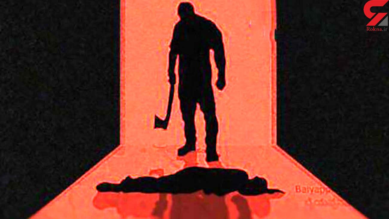 برادرکشی با خنجر در دورهمی شبانه / بازداشت قاتل مست + عکس