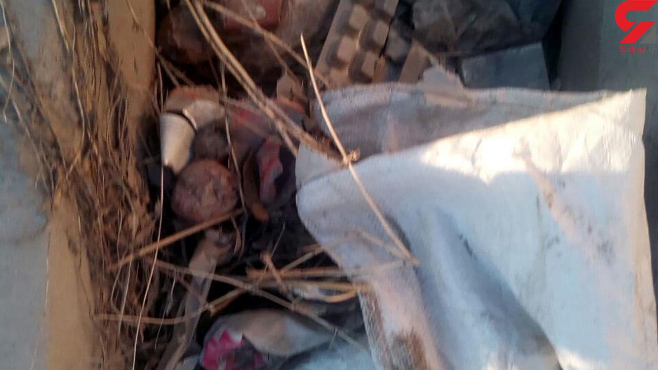 جوی ها پر از آشغال در هشترود بیداد می کند