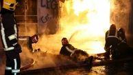 جایگاه سلیندر پرکنی در لیردف بندرعباس دچار حرق شد